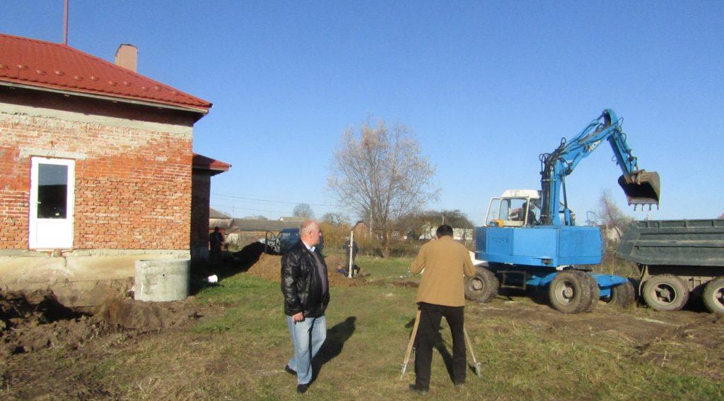 будівництво дитячого саду в с. Рудники